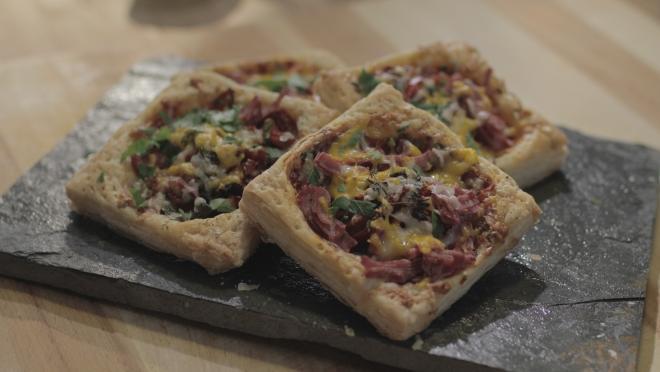 Milföy Hamurundan Pizza